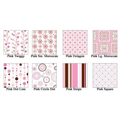 Caden Lane Pink Changing Pad Cover