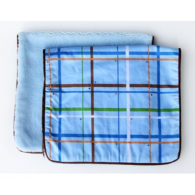 Caden Lane Boutique Plaid Burp Set (Set of 2)