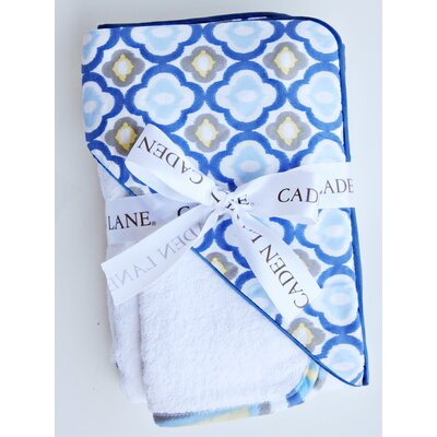 Caden Lane Ikat Mod Hooded Towel Set