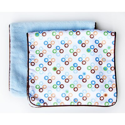 Caden Lane Boutique Star Dot Burp Set (Set of 2)