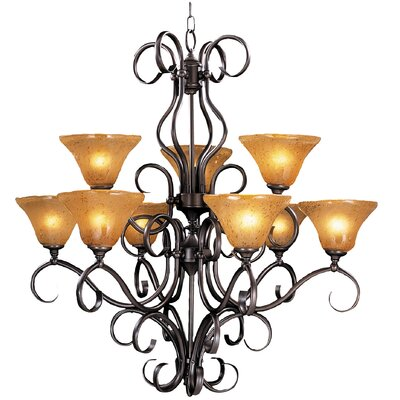 Framburg Häuschen 9 Light Dining Chandelier
