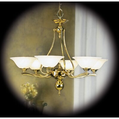 Fin De Siecle 6 Light Dining Chandelier