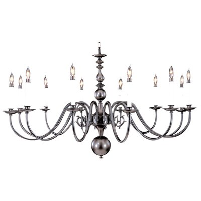 Framburg Jamestown 12 Light Foyer Chandelier