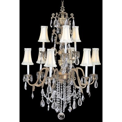 Framburg Czarina 9 Light Foyer Chandelier