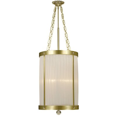 Framburg Astor 5 Light Drum Pendant