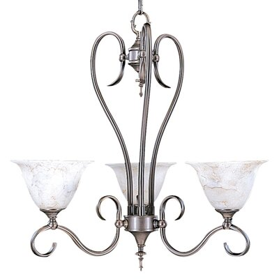 Framburg Forest 3 Light Dinette Chandelier