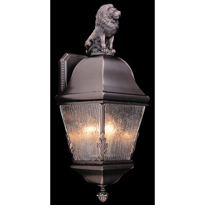 Framburg Coeur de Lion 3 Light Outdoor Wall Lantern