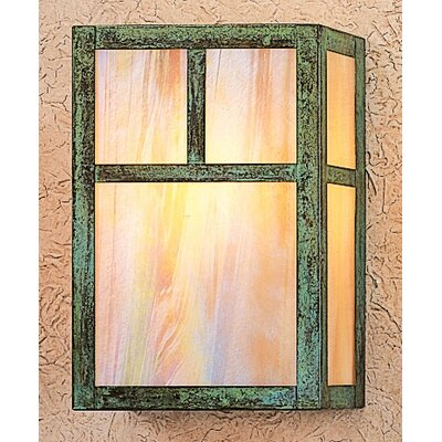 Arroyo Craftsman Mission 1 Light Wall Sconce