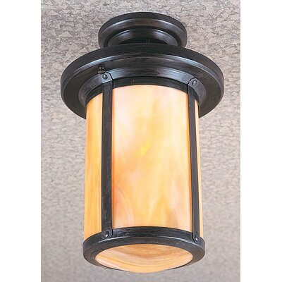 Arroyo Craftsman Berkeley 1 Light Semi Flush Mount