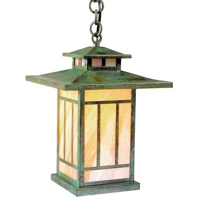 Arroyo Craftsman Kennebec 1 Light Hanging Lantern
