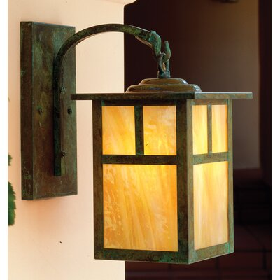 Arroyo Craftsman Mission Wall Lantern