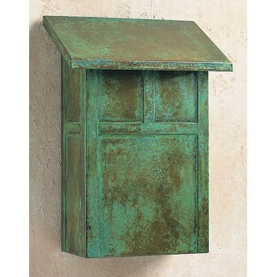 Arroyo Craftsman Mission Wall Mounted Mailbox