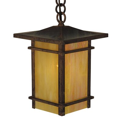 Arroyo Craftsman Katsura 1 Light Outdoor Hanging Lantern