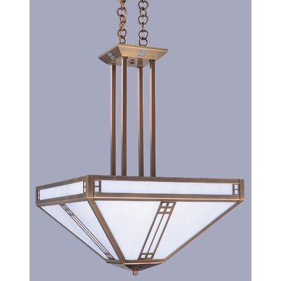 Arroyo Craftsman Prairie 4 Light Inverted Foyer Pendant