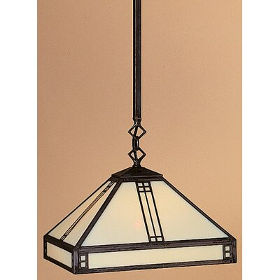 Arroyo Craftsman Prairie 1 Light Foyer Pendant