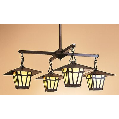 Arroyo Craftsman Westmoreland 4 Light Chandelier