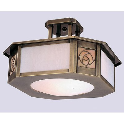 Arroyo Craftsman Saint Clair Semi Flush Mount