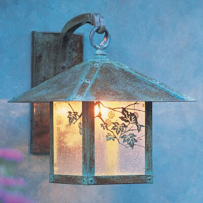 Arroyo Craftsman Evergreen 1 Light Outdoor Wall Lantern