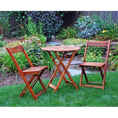 Atlantic Outdoor 3 Piece Bistro Set