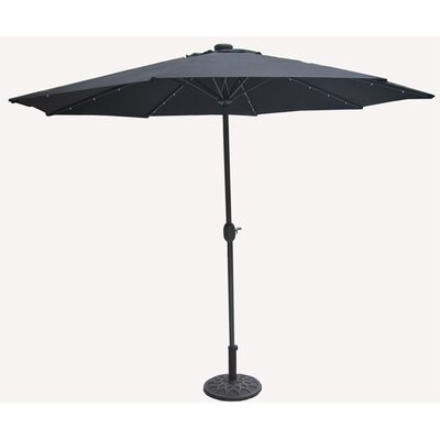 9' Solar LED Market Umbrella
