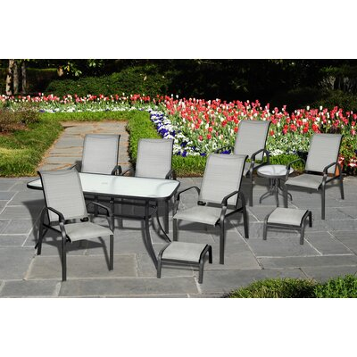 Atlantic Outdoor 10 Piece Complete Patio Set