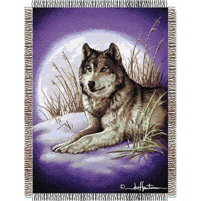 Entertainment Tapestry Throw Blanket - Hautman Brothers Moon Called
