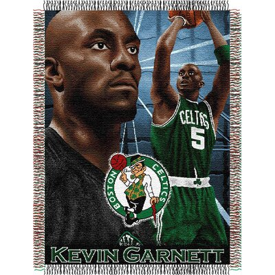 Northwest Co. NBA Player Woven Throw Blanket