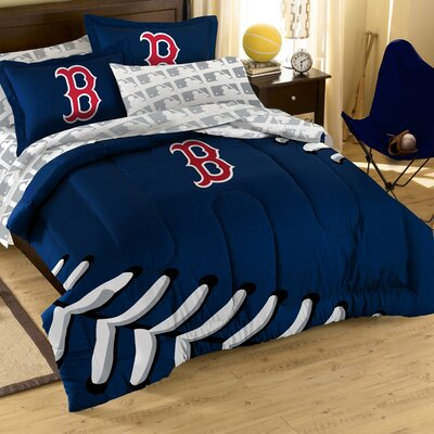 Northwest Co. MLB 5 Piece Twin Bed in a Bag Set