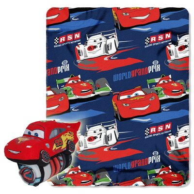 Northwest Co. Cars Polyester Fleece Throw