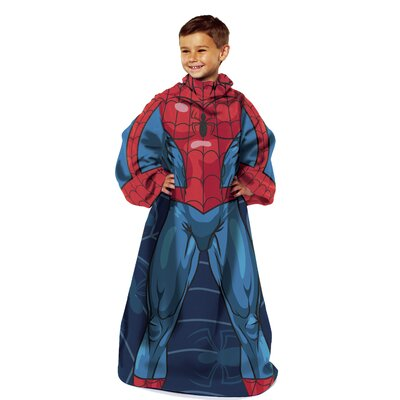Northwest Co. Spiderman Polyester Comfy Throw