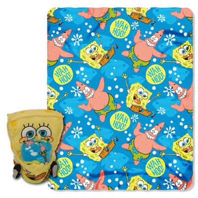 Spongebob Squarepants Polyester Fleece Throw