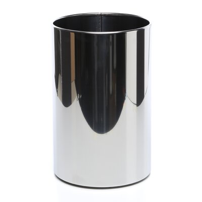 WS Bath Collections Complements Stainless Steel Waste Basket