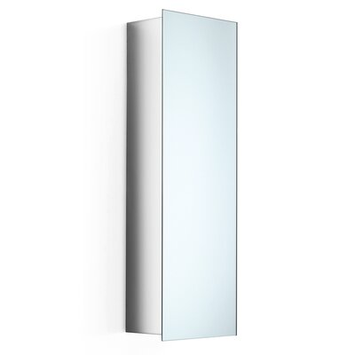"WS Bath Collections Linea Pika 11"" x 32.7"" Surface Mount Medicine Cabinet"