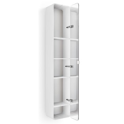 "WS Bath Collections Linea Bej 12"" x 63.4"" Surface Mount Medicine Cabinet"