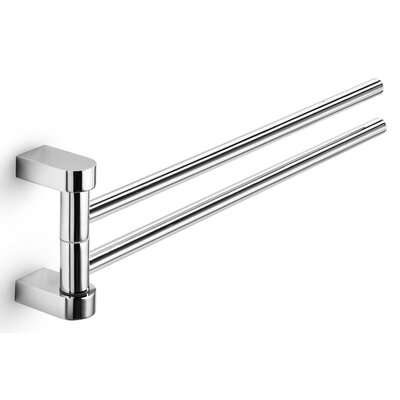 WS Bath Collections Muci Wall Mounted Double Towel Bar