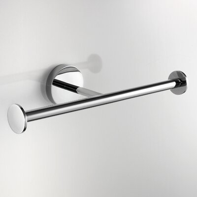 WS Bath Collections Duemilla Wall Mounted Double Toilet Paper Holder
