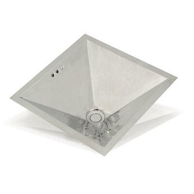 Metal Square Bathroom Sink - Orphee 0570