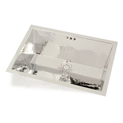"WS Bath Collections Metal 19.7"" Bathroom Sink"
