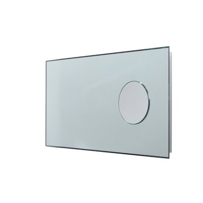 "WS Bath Collections Linea 35.4"" Speci Bathroom Beveled Mirror"