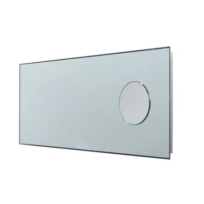 "WS Bath Collections Linea 43.3"" x 17.3"" Speci Bathroom Beveled Mirror"