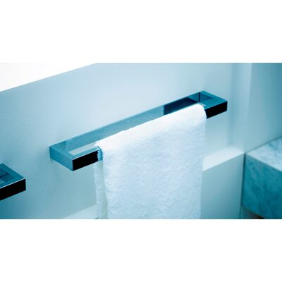 "WS Bath Collections Urban 11.8"" Towel Bar in Polished Chrome"