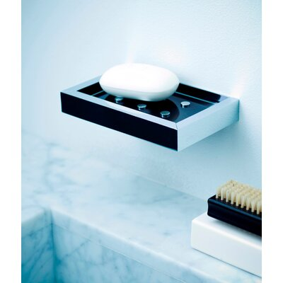 WS Bath Collections Urban Wall Mount Soap Dish in Polished Chrome
