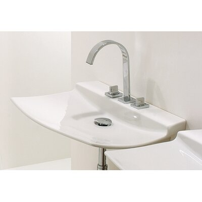 "WS Bath Collections Ceramica 29.5"" x 19.7"" Wall Mount or Vessel Sink"