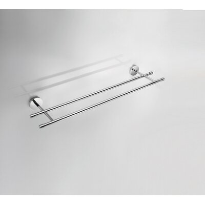 "WS Bath Collections Duemila 23.6"" Towel Bar in Polished Chrome"