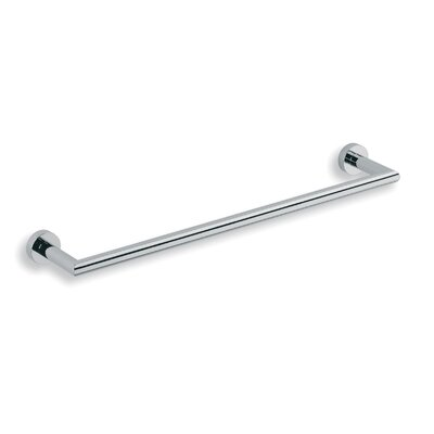 "WS Bath Collections Baketo 23.6"" Towel Bar in Polished Chrome"
