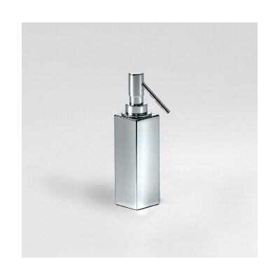 "WS Bath Collections Complements 2"" x 2"" Metric Free Standing Soap Dispenser"