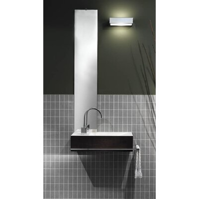 "WS Bath Collections Reverse 7.9"" x 42.1"" Bathroom Mirror"