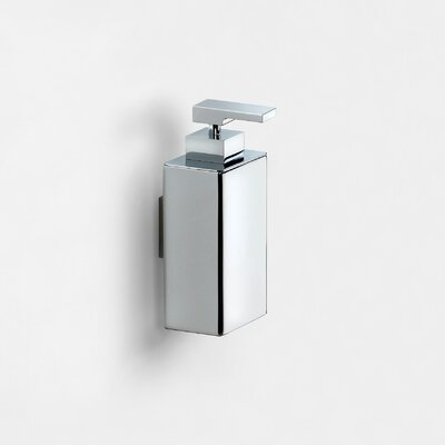WS Bath Collections Urban Wall Mount Soap Dispenser in Polished Chrome