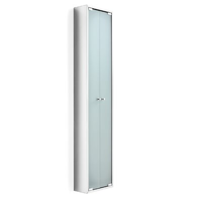 "WS Bath Collections Linea 11.81"" x 55.1"" Wall Mounted Linen Tower"