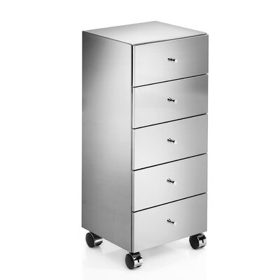 "WS Bath Collections Linea 13.8"" Runner Storage Cabinet"